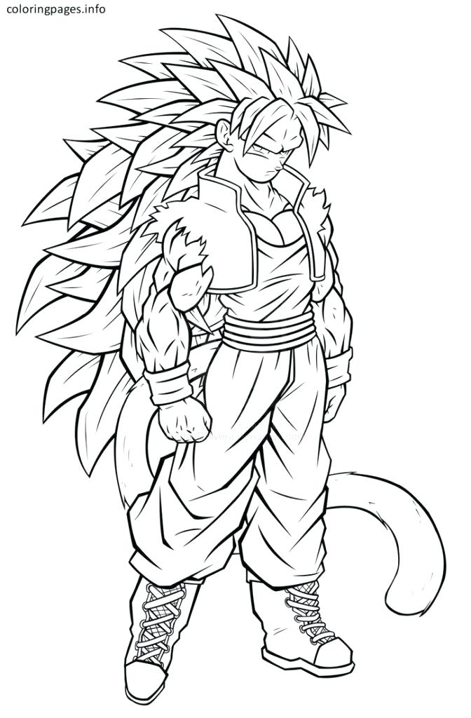 672x1024 Coloring Pages Of Goku Super Saiyan Goku Ssj Coloring Pages