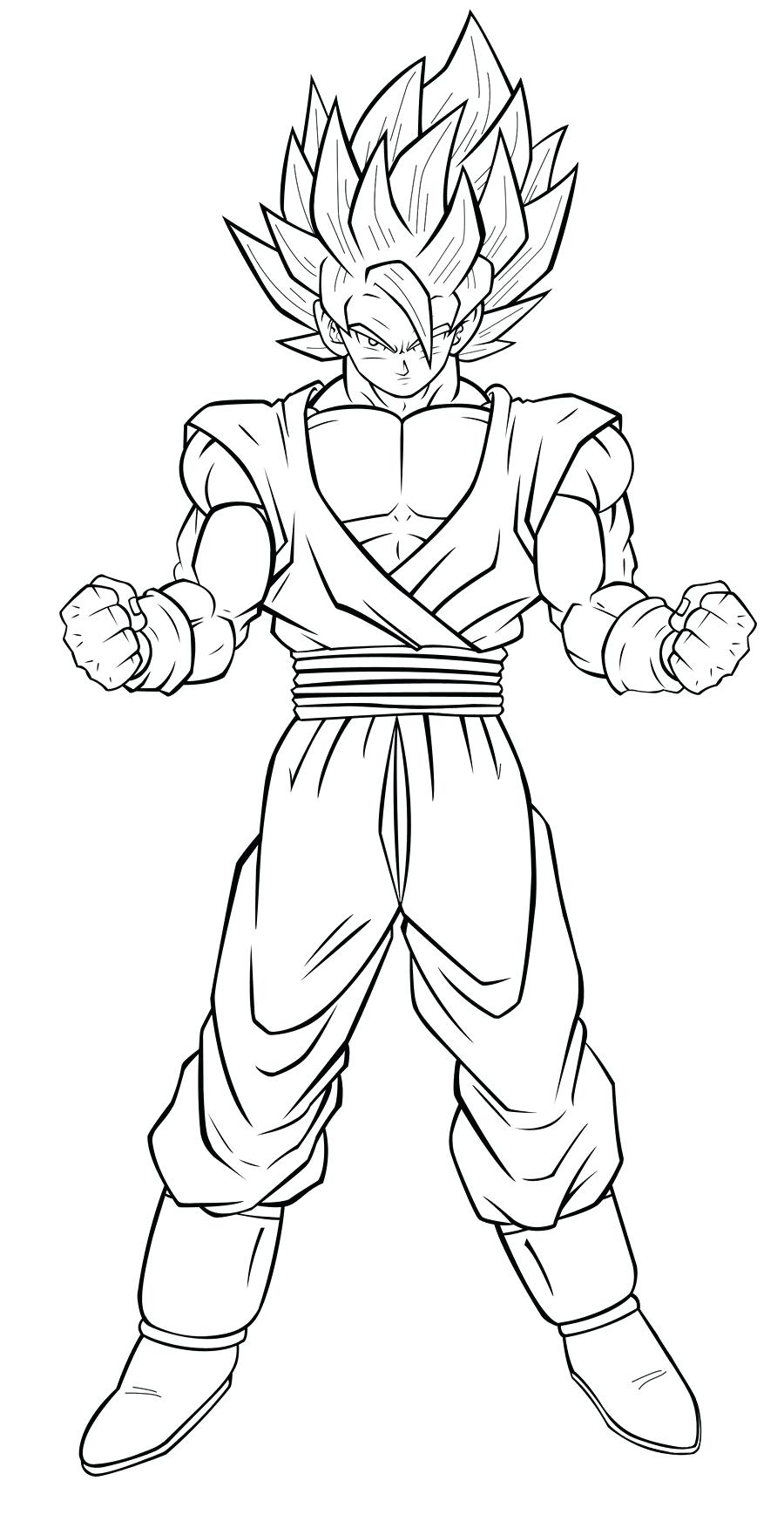 900x1737 Dragon Ball Super Coloring Pages