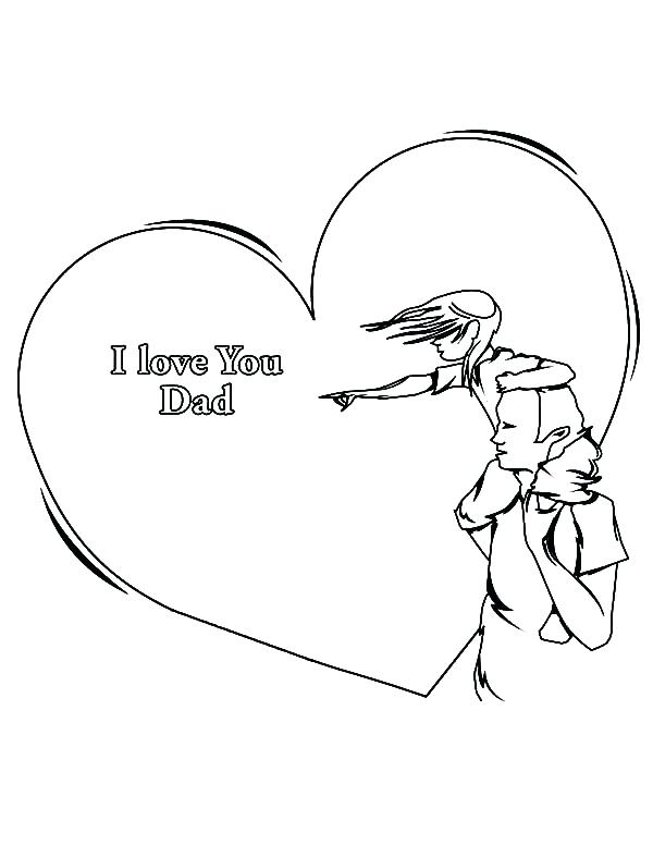 600x776 I Love Mommy And Daddy Coloring Pages Printable Coloring Super Dad