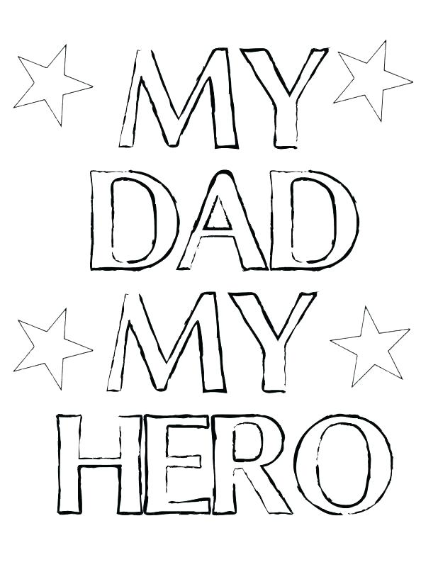 618x800 Super Dad Coloring Page Super Dad Coloring Pages