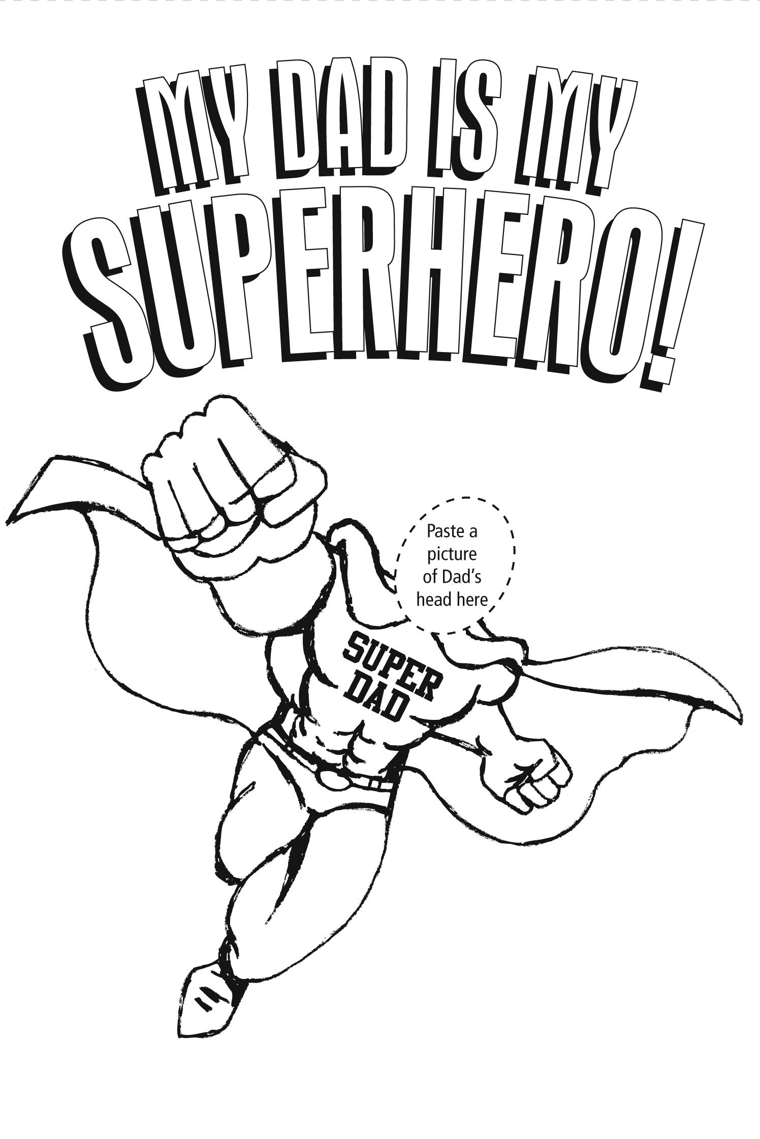 1496x2242 Superhero Dad Coloring Pages