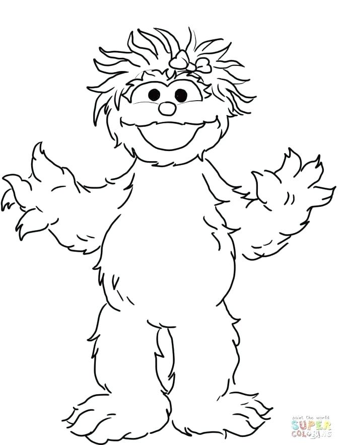 671x884 Coloring Pages Sesame Street Coloring Pages Sesame Street Coloring