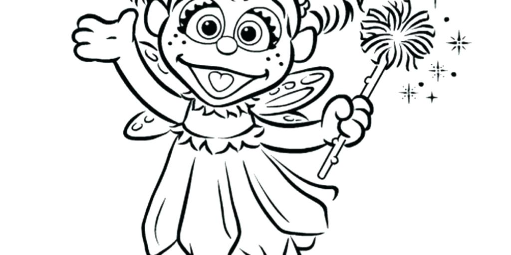 1024x512 Grover Coloring Page Sesame Super Grover Coloring Page