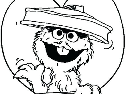 440x330 The Grouch Coloring Page Coloring Pages The The Grouch Coloring