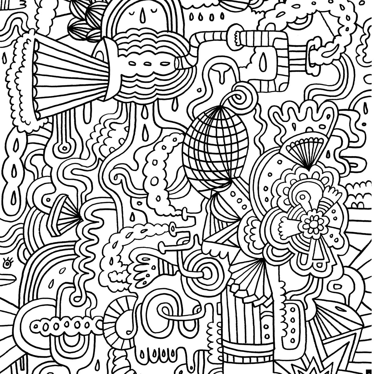 Super Hard Coloring Pages