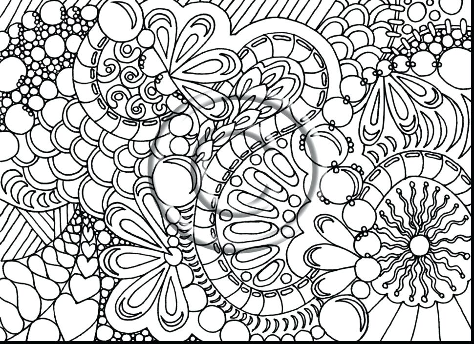 970x705 Printable Difficult Coloring Pages As Awe Inspiring Coloring Pages