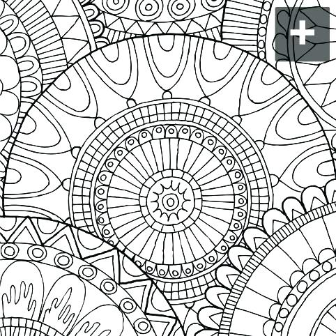 482x482 Abstract Coloring Page Hard Coloring Pages Difficult Abstract
