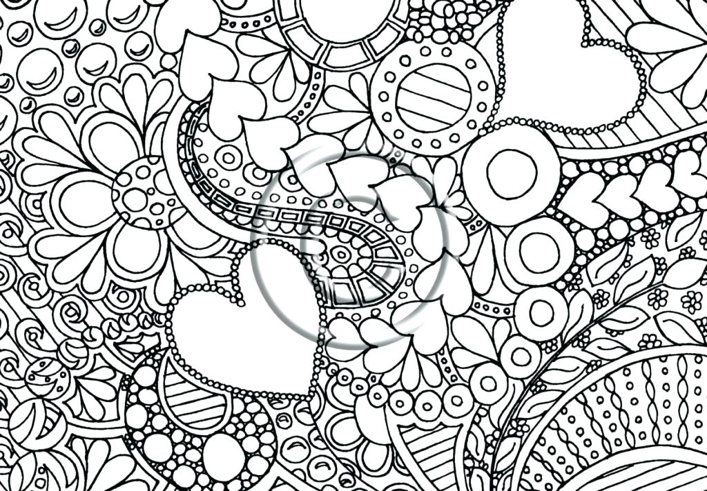 1024x712 Abstract Coloring Pages For Adults Abstract Printable Coloring