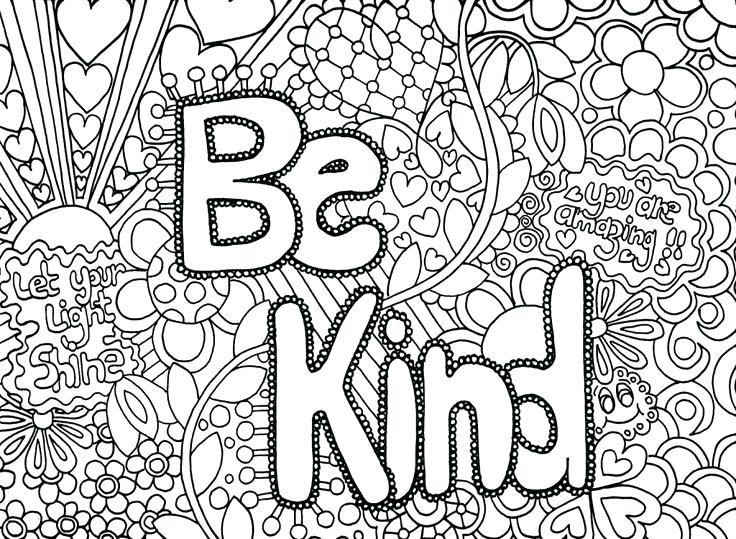736x539 Abstract Coloring Pages Graffiti Coloring Pages Kind Words Super