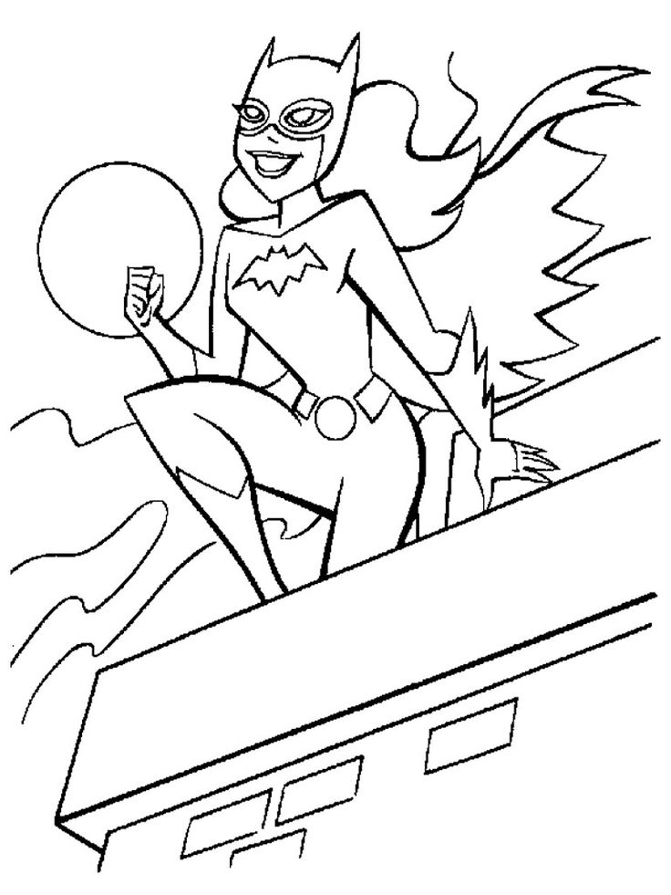 Super Hero Coloring Pages For Kids