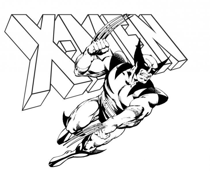 730x600 Wolverine Coloring Pages Printable Kids Printable Wolverine