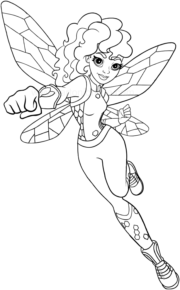 614x992 Super Hero Girls Coloring Pages Free Printable Super Hero High