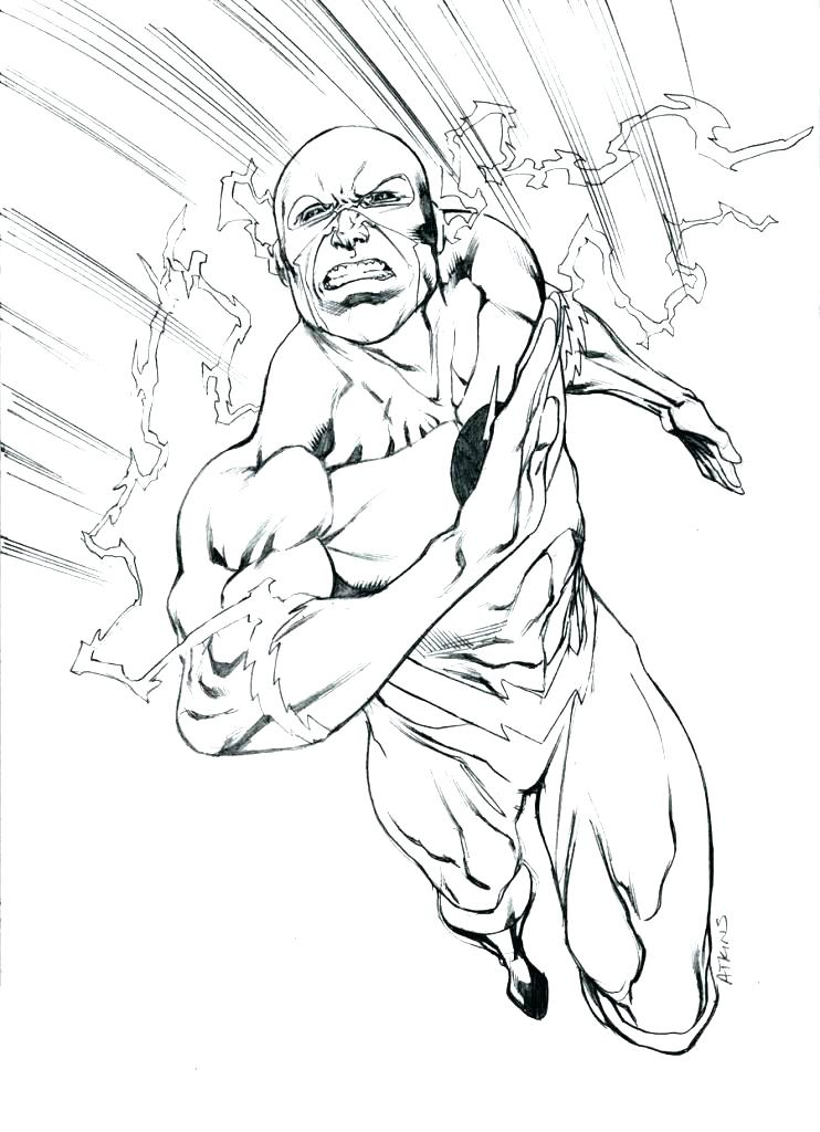 742x1024 Super Hero Coloring Pages Flash Coloring Book Pages Plus Super