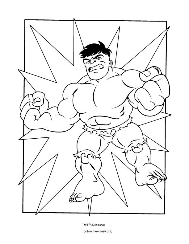 612x792 Super Hero Squad Coloring Pages Super Hero