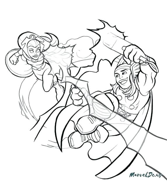 572x624 Superhero Squad Coloring Pages Download Smartphone A Tablet Super