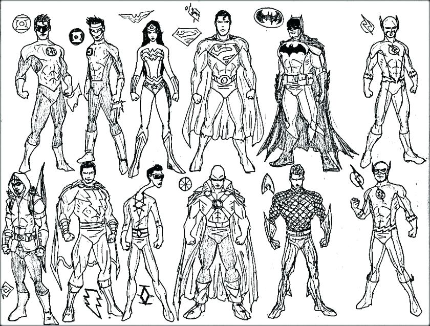 840x637 Coloring Page Superhero Superheroes Coloring Pages Free Superhero