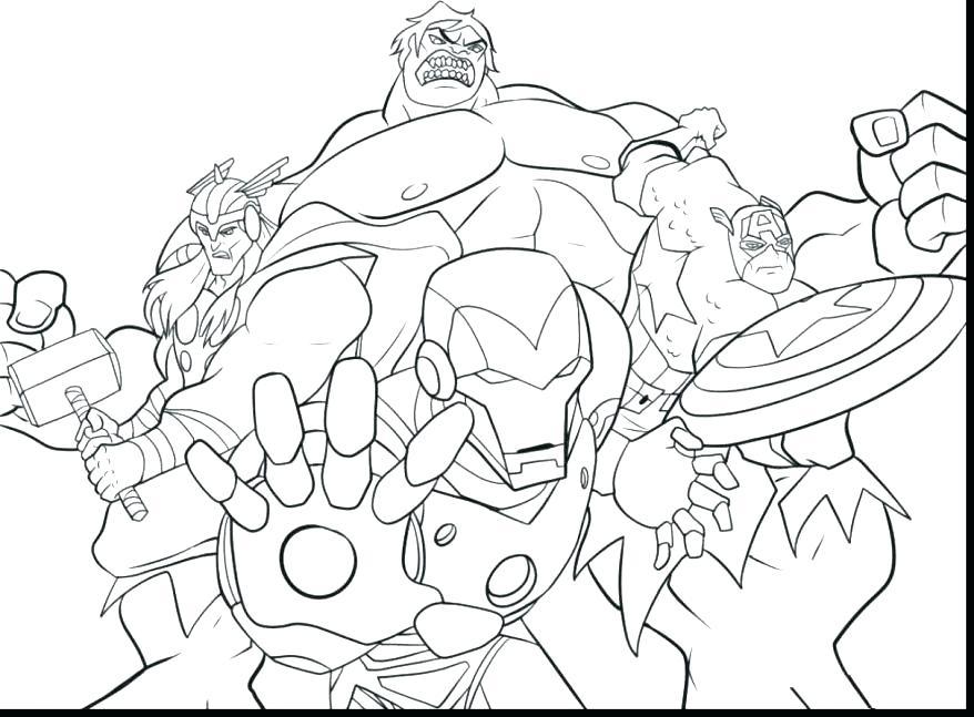 878x647 Superhero Squad Coloring Pages Fuhrer Von