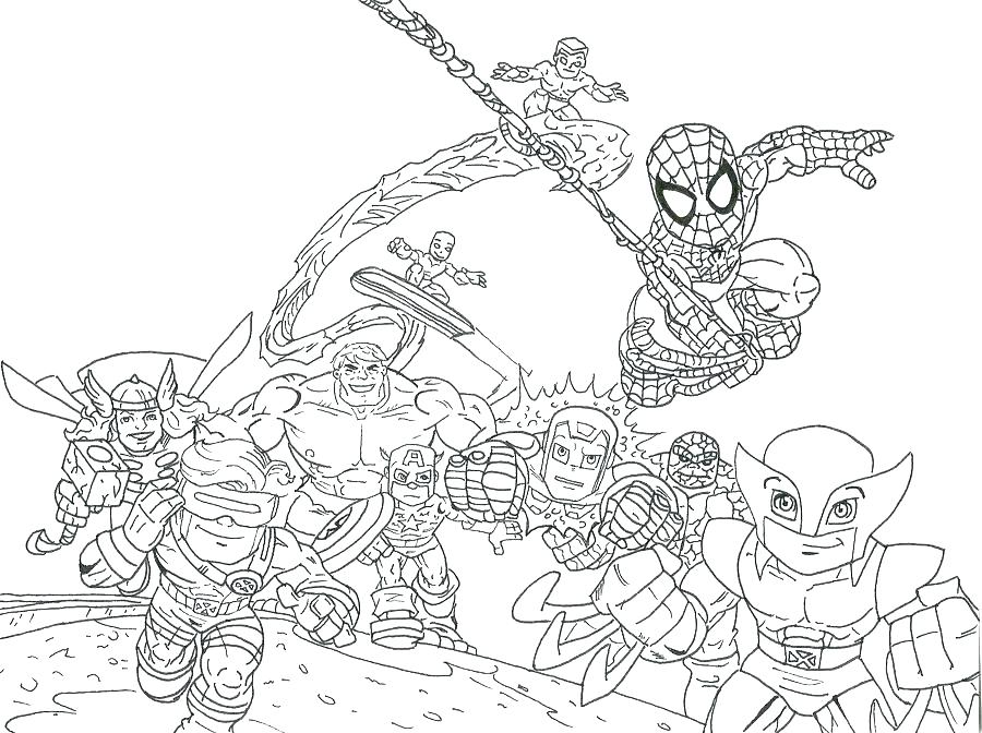 900x672 Cool Superheroes Coloring Pages New Marvel Superhero For Kids Cool