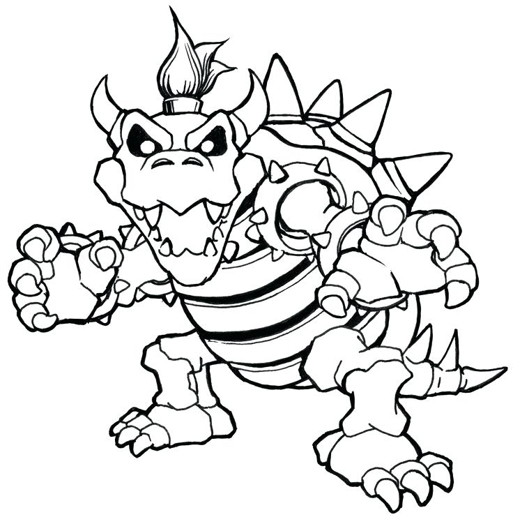 736x741 Super Mario Coloring Page Coloring Coloring Pages Dry Coloring