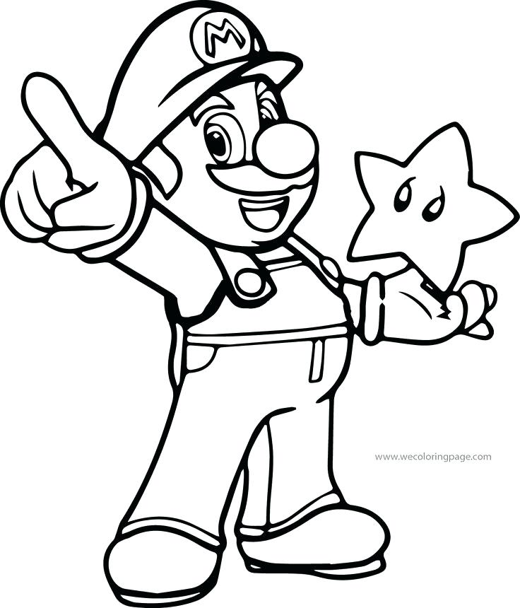 736x860 Super Mario Bros Coloring Pages Awesome Super Coloring Page Super
