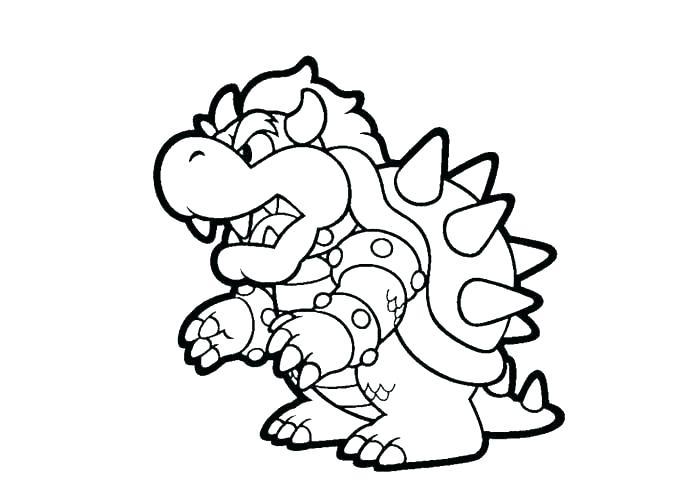 Super Mario Bros Printable Coloring Pages At Getdrawings Com Free