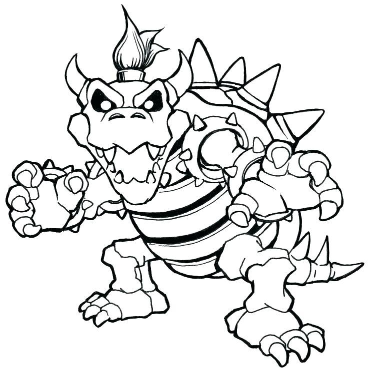 736x741 Super Mario Bros Coloring Sheets New Super Mario Bros Wii Coloring