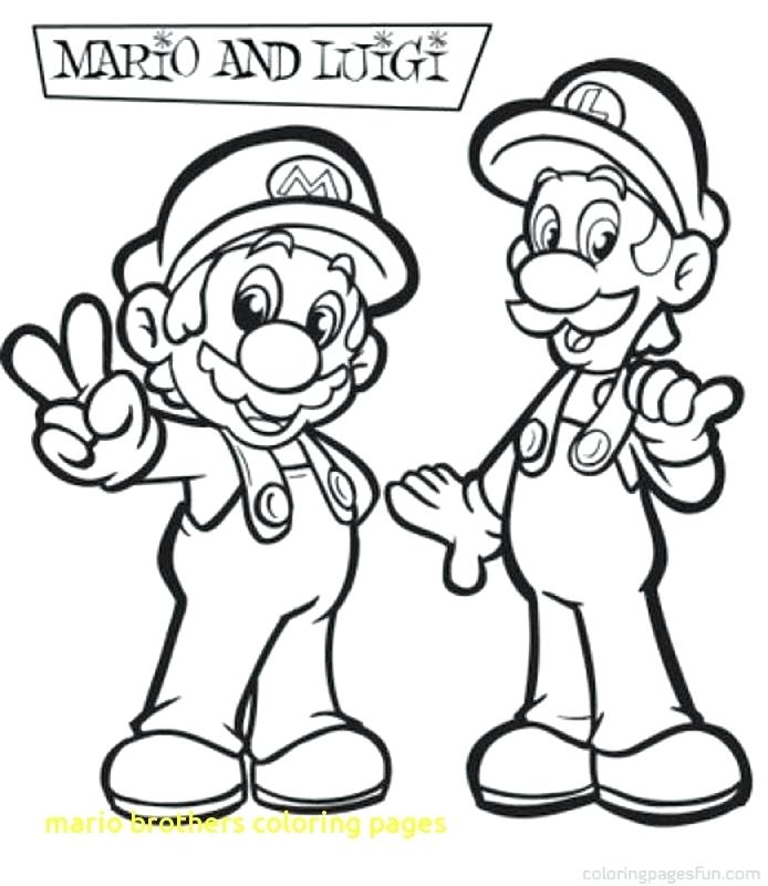 694x800 Super Mario Brothers Coloring Pages New Super Mario Bros Wii