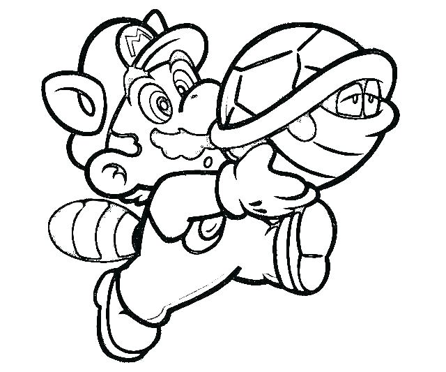 640x533 Super Mario Bros Coloring Pages Free Icontent