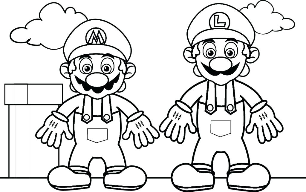 1024x643 Mario Cart Coloring Pages Kart Characters Ever Made Mayhem