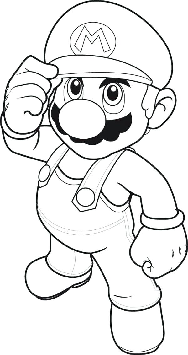 600x1131 Super Mario Brothers Coloring Pages How To Draw Super Brothers