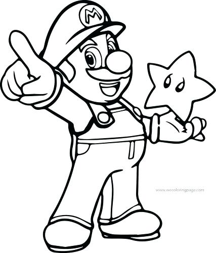 427x500 Super Mario Brothers Coloring Pages Medium Size Of Super Brothers