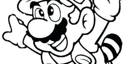 443x220 Mario Brothers Coloring Pages Printable Design And Ideas Page