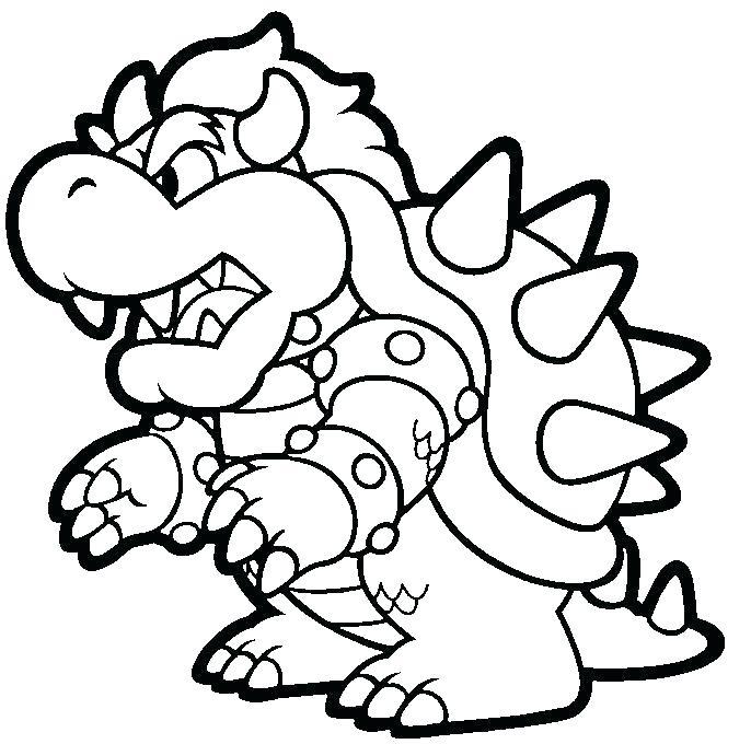 686x680 Mario Bro Coloring Pages Bros Coloring Pages Super Mario Bros