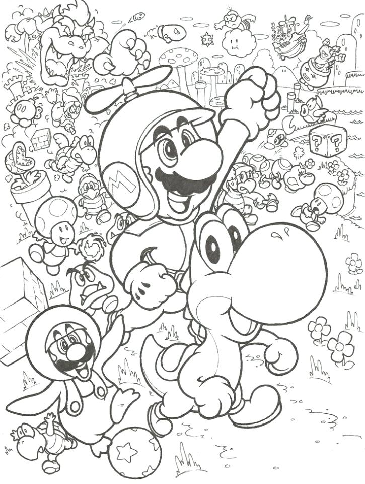 725x960 Mario Bros Coloring Pages Bros Coloring Pages Coloring Book Best
