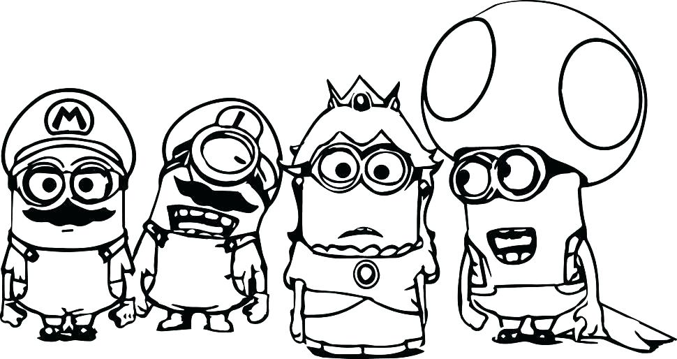 970x514 Super Mario Coloring Pages Icontent
