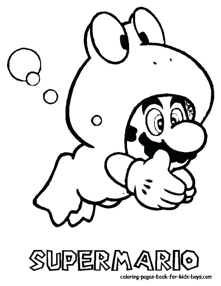Super Mario Maker Coloring Pages At Getdrawings Com Free