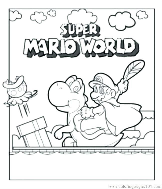 650x755 Vol Coloring Page Super Mario Bros Daisy Coloring Page Gotpaulie