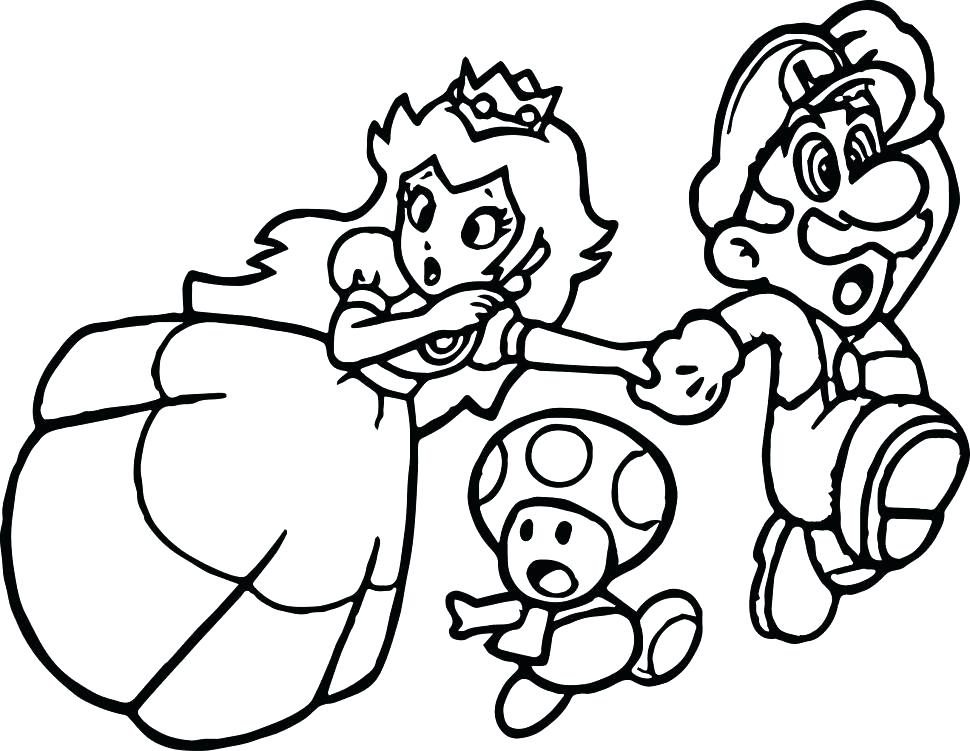 970x751 Paper Mario Coloring Pages Paper Coloring Page Interesting Paper