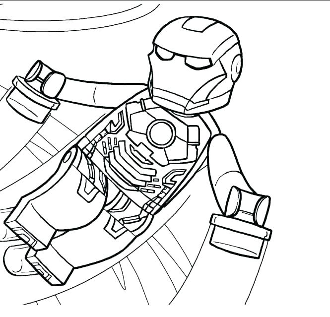 665x639 Mom Junction Coloring Pages Superheroes