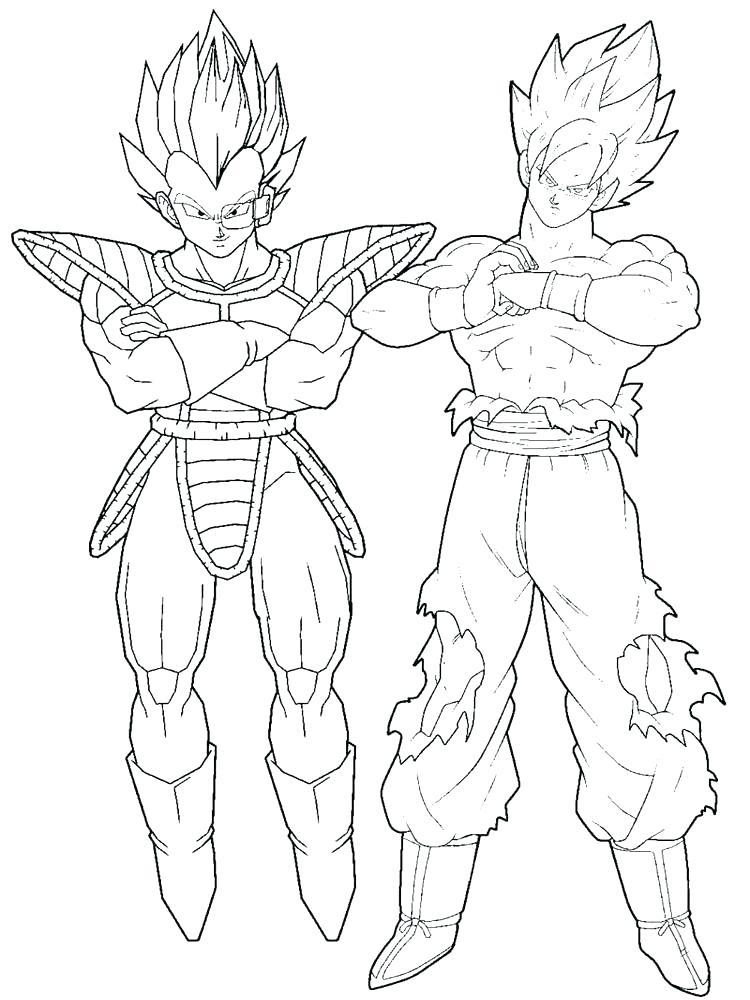750x1000 Goku Coloring Games Goku Super Saiyan Coloring Pages