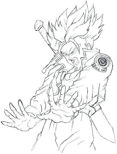 477x627 Goku Coloring Sheets Goku Super Saiyan Coloring Sheets
