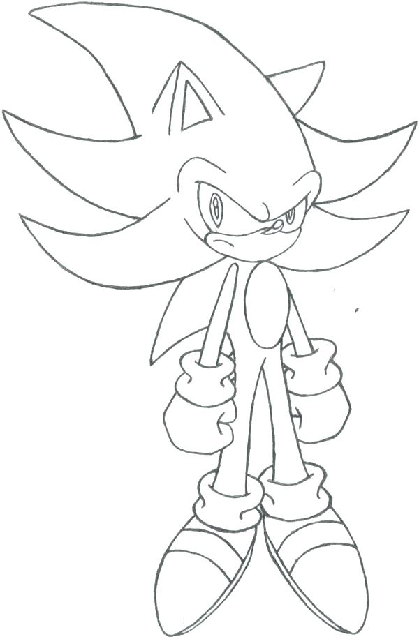 600x916 Shadow Hedgehog Coloring Pages Image Shadow The Hedgehog Coloring