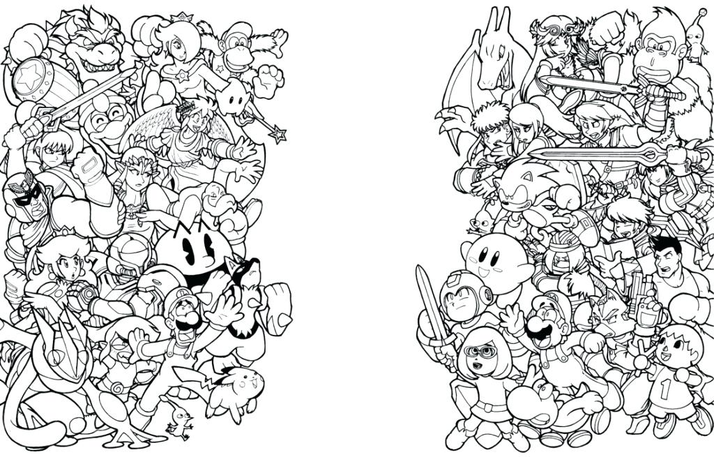 1024x655 Super Brothers Coloring Pages Bros Coloring Pages Super Bros Super