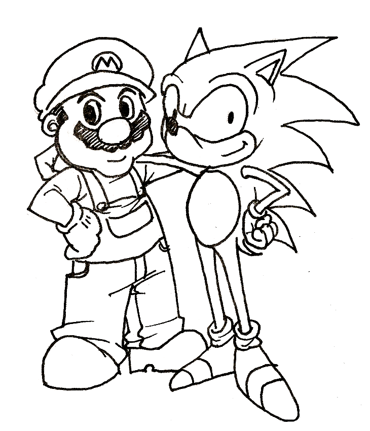 The Best Free Mario Coloring Page Images Download From 3218