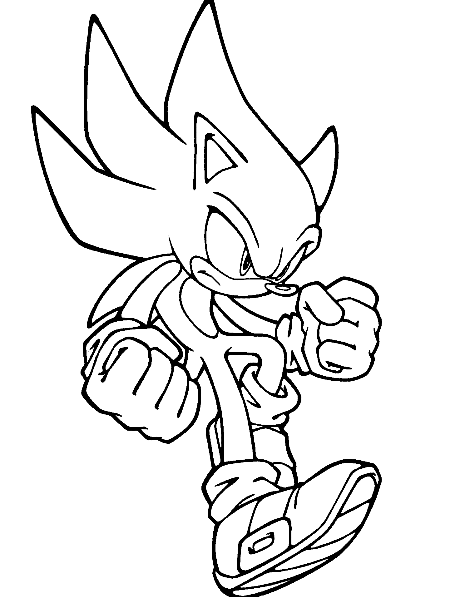 1457x1947 Coloring Pages Sonic The Hedgehog Archives Best Of Super Inside