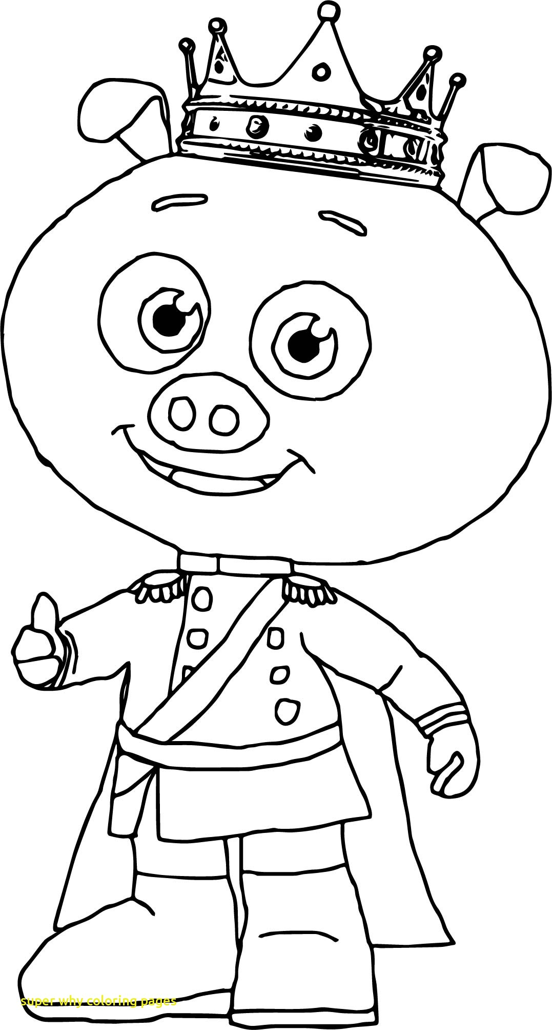1077x2007 Another Page To Color Throughout Super Why Coloring Pages Print