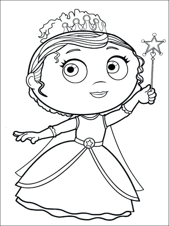 568x758 Super Why Coloring Book Plus