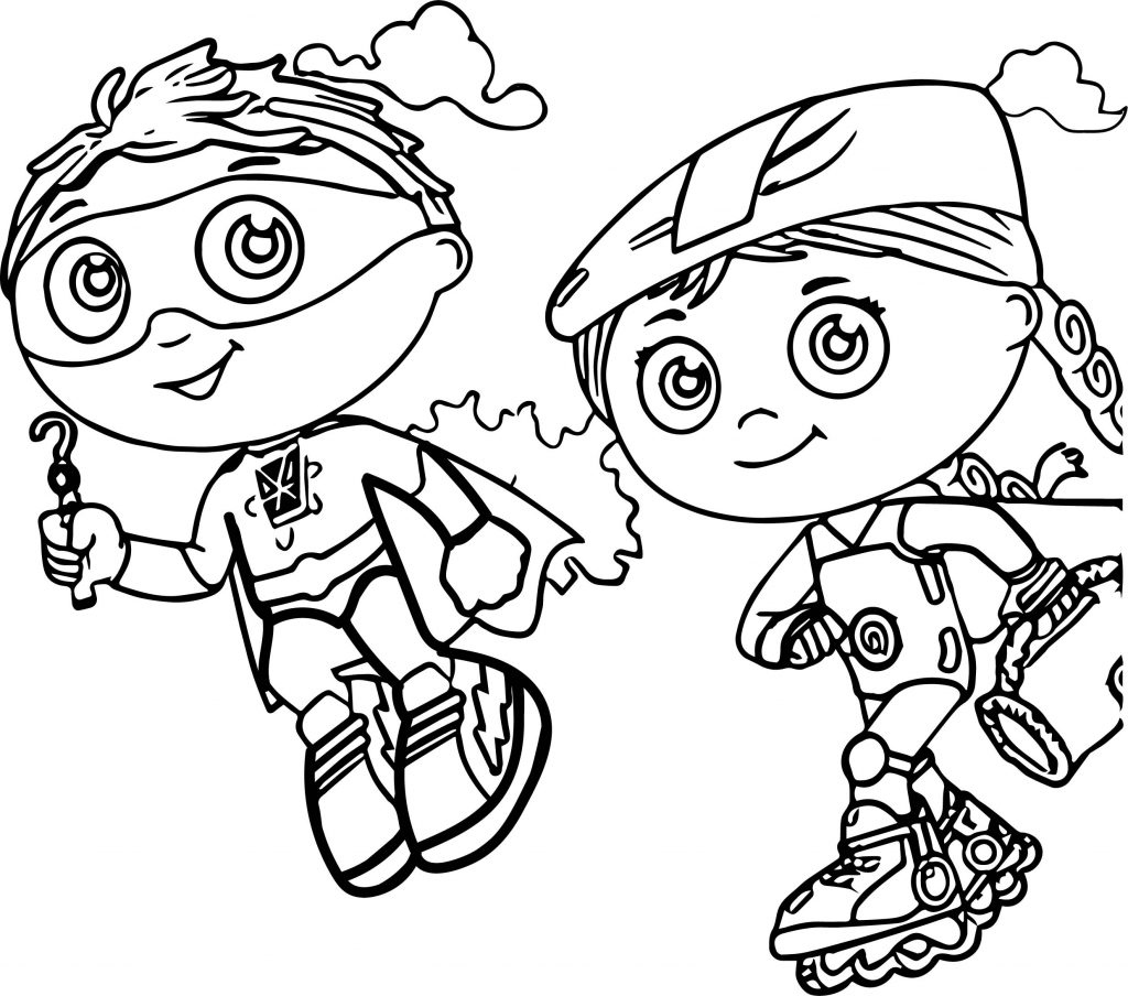 1024x904 Coloring Pages Free Printable Unique Super Why Coloring Pages Best