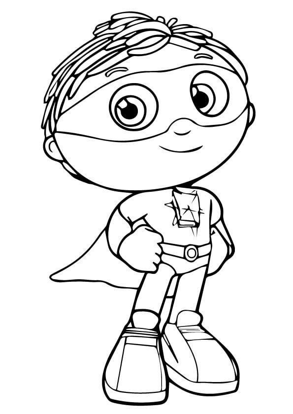 595x842 Super Why Coloring Pages Coloring Pages For Kids