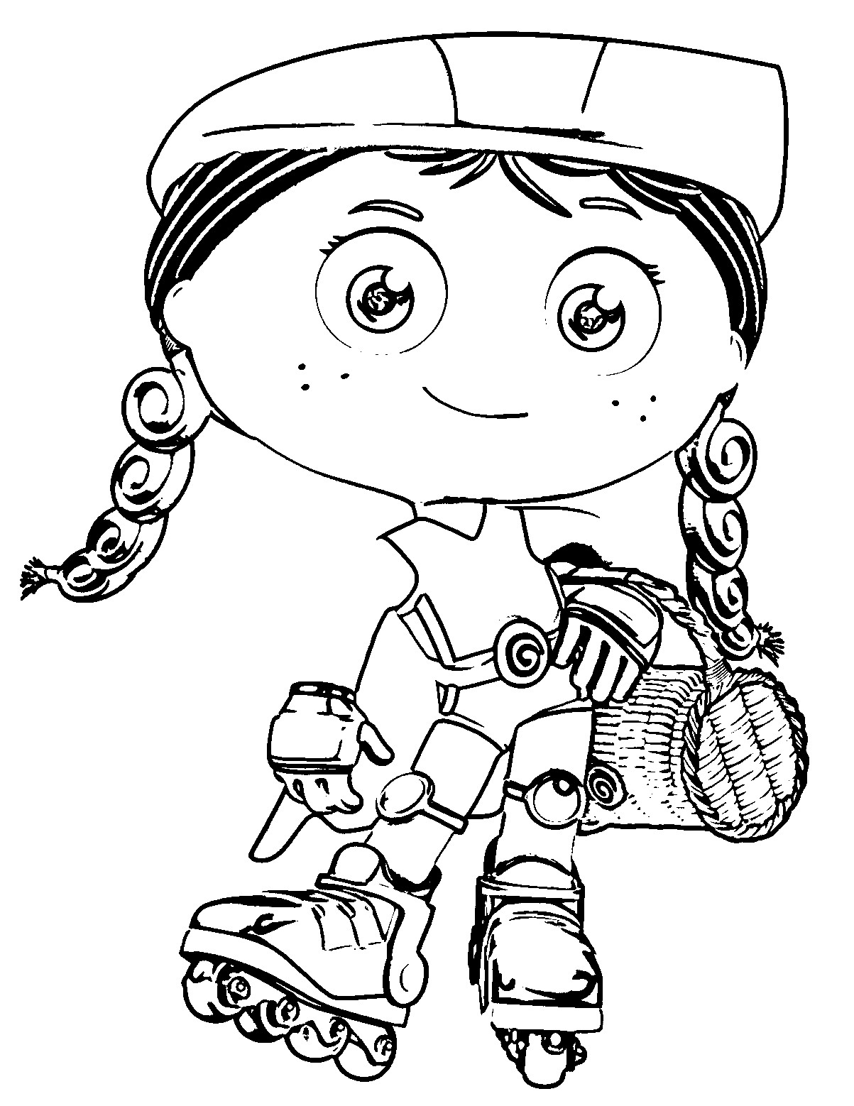 1203x1558 Super Why Coloring Pages Best For Kids Ribsvigyapan Com Tearing